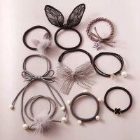 橡皮筋发绳韩国小清新森女系扎头绳头饰新款成人简约个性发圈饰品