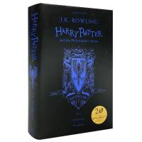 拉文克劳学院精装版 哈利波特与魔法石 英文原版 Harry Potter Philosopher's Stone JK