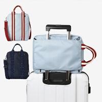 旅行防水收纳袋时尚男士手提行李包可套拉杆休闲包女斜挎单肩 大