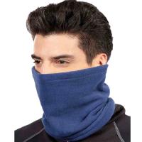户外男女时尚保暖抓绒围脖围巾帽子多功能防风情侣款