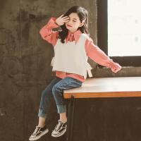 女童套装春秋六岁春装韩版霸气公主2020新款6运动套装