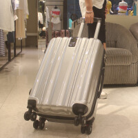 拉杆箱万向轮行李箱女韩版潮手拉箱密码箱男24学生皮箱旅行箱26寸