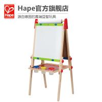 Hape多功能画架3-6岁磁性大画板可升降调整儿童玩具