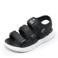 男童凉鞋夏季中大童小童小孩宝宝女童男孩儿童沙滩鞋