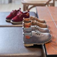 春季儿童休闲鞋男女童皮鞋英伦复古单鞋耐磨大头皮鞋