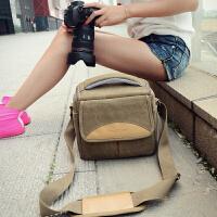 佳能相机包单反便携可爱摄影包200D700D750D760D800D77D80D1300D 原装卡其色