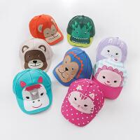 davebella戴维贝拉2017夏季新款儿童帽子 宝宝动物鸭舌帽 棒球帽