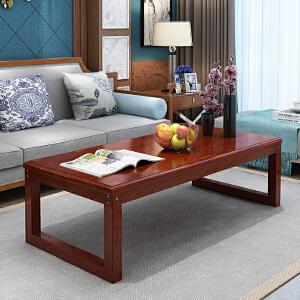 茶几 木质简约现代客厅日式复古长方形小桌子经济型创意简易小户型餐桌两用客厅茶桌