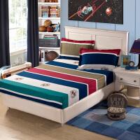 福存家居 全棉床笠斜纹时尚田园1.2米1.5米1.8米床垫保护套罩床罩