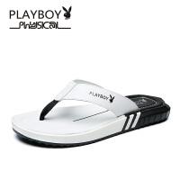 【夏季新款】花花公子男鞋夏季凉鞋男士新款撞色夹趾沙滩鞋 德-CX39639