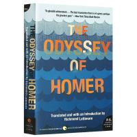 现货正版 The Odyssey of Homer 荷马史诗 奥德赛 英文原版文学书 Lattimore 翻译 英文版