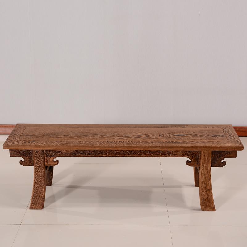 家具中式实木矮凳子 古典仿古木长板凳长条凳小板凳 茶凳 大号( 128长-35宽-40高 ) 大件商品需联系客服补运费,部分商品,分类为定制定金,下单前请咨询客服,否则无法发