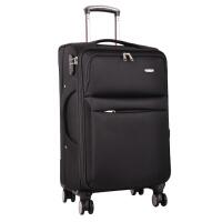 轮拉杆箱牛津布24寸密码旅行软箱包男女26帆布行李拖箱皮箱