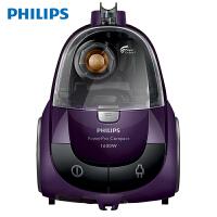 飞利浦(PHILIPS)吸尘器家用静音大功率迷你小型吸尘器 FC8472/81 魅力紫