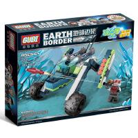 古迪地球边境2战场幽灵 启蒙益智组装拼插拼装塑料积木玩具8225