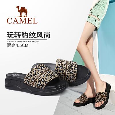 Camel/骆驼2019夏季新款 新潮时尚 盛夏女王 凉拖女