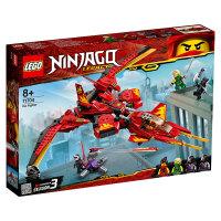 【当当自营】LEGO乐高积木 幻影忍者Ninjago系列 71704 凯的战斗机 玩具礼物
