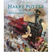 现货 哈利波特与魔法石 英文原版书 彩色绘本 插画版 Harry Potter and the Philosopher