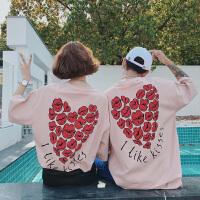 情侣装夏装韩版潮流学生风宽松男女短袖T恤