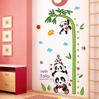 创意卡通儿童房身高贴儿童房装饰神器可移除可标记墙贴纸贴画自粘