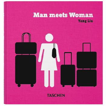 Yang Liu. Man meets Woman 男女相异 设计师刘扬作品集 TASCHEN 插画绘画绘图绘本设计书 专注原版