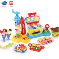 儿童橡皮泥彩泥雪糕机模具套装男女孩玩具