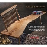 温莎椅北欧长条凳子实木日式椅子餐厅咖啡厅民宿椅装饰椅中岛椅
