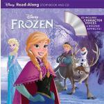 【中商原版】英文原版 Frozen Read-Along Storybook(CD) 冰雪奇缘 迪士尼独立阅读系列 有