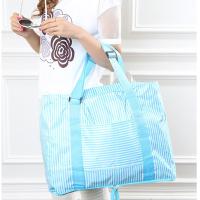 便携折叠旅行包防水旅行袋女大容量短途手提行李袋可套拉杆行李箱 大