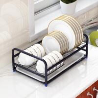 304不锈钢碗架沥水碗碟架厨房用品碗盘架单层架盘子架收纳置物架