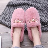 豆豆鞋 女士时尚防滑豆豆鞋2020秋冬新款女式居家加绒保暖妈妈鞋