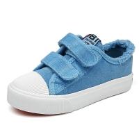 男女童布鞋春季儿童帆布鞋学生板鞋单鞋中大童休闲鞋