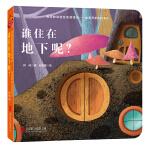 童立方・宝宝的双语互动迷藏书会变形的MOMO:谁住在地下呢?