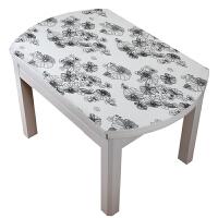 长方形水墨塑料桌垫软玻璃 桌布防水防烫防油家用免洗pvc水晶板
