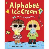 Alphabet Ice Cream: A fantastic fun-filled ABC,Alphabet Ice