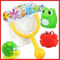 五星玩具 水上乐园宠物网捞3791儿童戏水玩具 洗澡 喷水 沙滩玩具