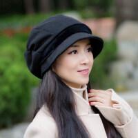 帽子女韩版潮时尚百搭新款日系休闲保暖女士英伦贝雷帽