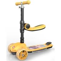 滑板车儿童溜溜车子单脚小孩滑滑合一可坐