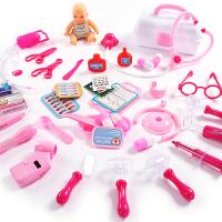 糖米仿真小医生玩具套装工具医疗打针护士儿童过家家男女孩听诊器