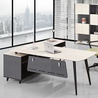 老板桌现代办公桌办公家具时尚老板办公桌经理桌班台主管桌椅组合