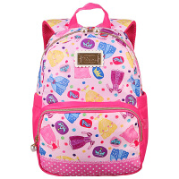 迪士尼(Disney)公主系列简易书包 BP6632B 粉色 小学生减负休闲时尚双肩包 当当自营
