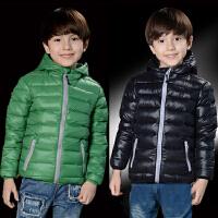 *儿童装男童长袖加厚保暖羽绒服2018春冬装新款外套A072直