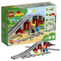 【����自�I】LEGO�犯叻e木 得��DUPLO系列 10872 火��蛄号c�道 玩具�Y物
