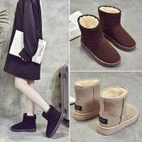 时尚学生短筒棉靴韩版马丁短靴百搭棉鞋加绒保暖雪地靴女