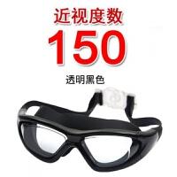 男士透明大框游泳镜女士高清电镀防水防雾游泳眼镜潜水镜新品