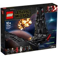 【当当自营】LEGO乐高积木星球大战电影75256 天行者系列10岁+凯洛伦的穿梭机