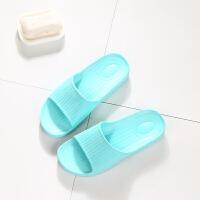 浴室拖鞋女夏季家居家用室内防滑情侣简约洗澡日式凉拖鞋