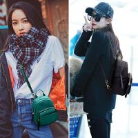 迷你双肩包女包包2018新款韩版百搭潮个性尼龙牛津布背包书包小包