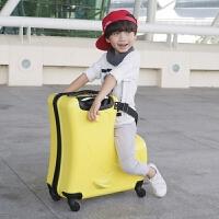 儿童旅行箱可坐可骑万向轮20寸拉杆箱男宝宝可以骑的行李箱女