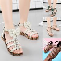 女童凉鞋夏季儿童软底童鞋罗马鞋中大童小女孩宝宝鞋